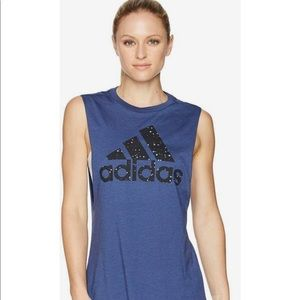 NWT Adidas Stars Muscle Tank Top Size Large